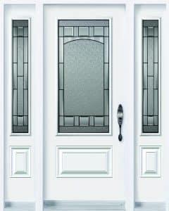 Bistro Steel Door