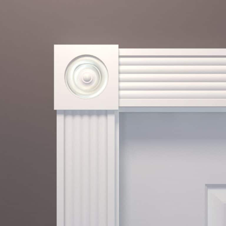 Fluted Reeded Casing