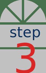 window step 3 icon