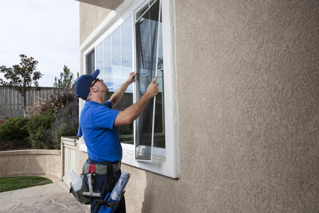 Installing Window Screen
